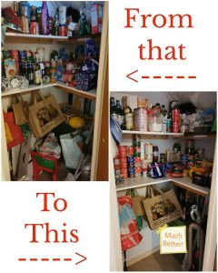 cleared pantry