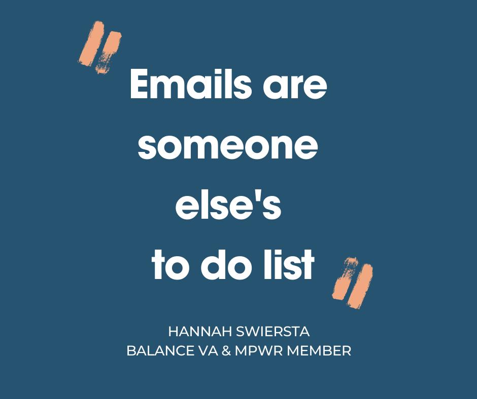Managing your Inbox